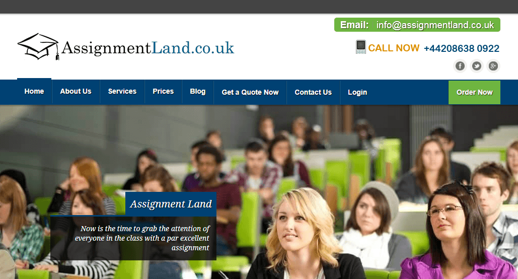 assignmentland.co.uk review