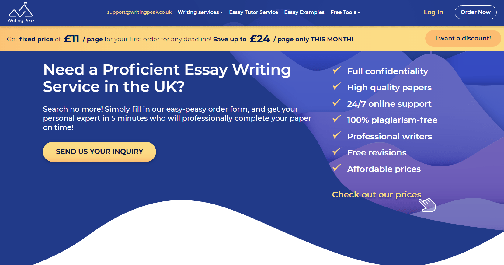 writingpeak.co.uk review